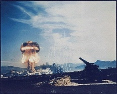 Nuclear Weapons Test during the 1950s. (National Archives photo)