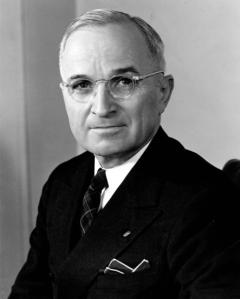 President Harry Truman (photo courtesy of the Truman Library)