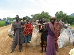 The fighting in Blue Nile Sudan has caused a hunger and refugee crisis with thousands fleeing to South Sudan and Ethiopia. Many others who remain behind in Blue Nile are suffering from food shortages Credit: UNHCR