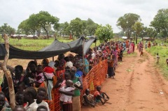 Thousands have been displaced by the conflicts in South Kordofan and Blue Nile states in Sudan. These areas are facing a hunger crisis and aid groups need access. Credit: UNHCR