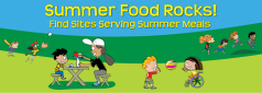 The Dept. of Agriculture is trying to expand summer feeding throughout the country (courtesy USDA)