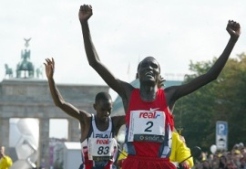 Paul Tergat (World Food Program USA photo)