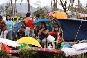 The UN World Food Programme and other aid groups are rushing aid to those displace by the typhoon. World Food Programme. (WFP/Praveen Agrawal)